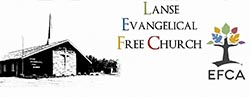 Lanse Evangelical Free Church logo.